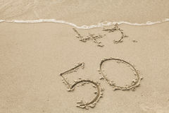 50 złote lata Obraz Stock