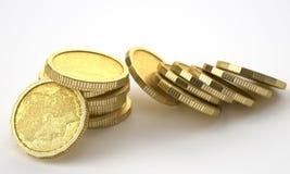 złote monety Obrazy Stock