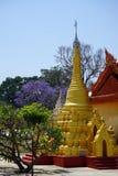 złote stupas Obrazy Royalty Free