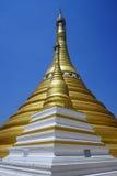 złote stupas Zdjęcie Royalty Free