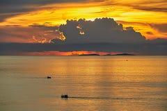 złotego morza Obrazy Stock