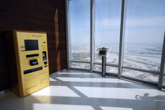 Złoto ATM Obrazy Royalty Free