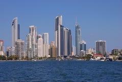Złoto Brzegowy Australia fotografia stock