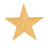 Złoto gwiazda Zdjęcie Royalty Free