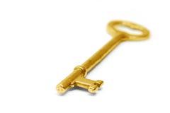 złoto klucz Obraz Royalty Free
