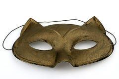 złoto maska Fotografia Stock