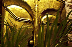 Złoto maska Buddha Obrazy Royalty Free