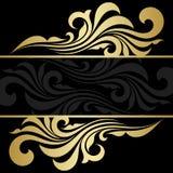 Złoto rama Zdjęcia Royalty Free