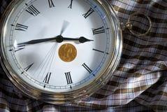 złoto save czas Zdjęcie Stock