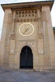 Złoto zegar na Sidi Bou Abib meczecie w Tangier Obrazy Royalty Free