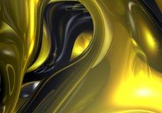 złoty 02 przewód Zdjęcie Stock