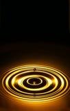 złoty 3 ringu Fotografia Stock