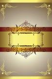 złoty backgorund Fotografia Stock