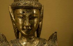 Złoty Bhudda Obraz Royalty Free