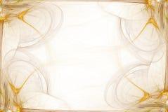 złoty biznes graniczny grafiki dymu Obraz Stock