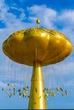 Złoty bo drzewo Fotografia Stock