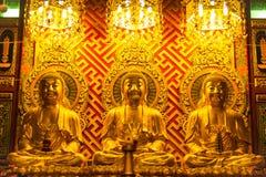 Złoty Buddha Fotografia Royalty Free