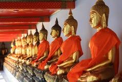 Złoty Buddha Zdjęcie Royalty Free