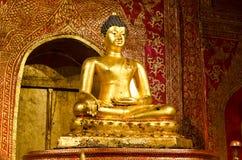 Złoty Buddha Obraz Stock