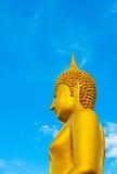 Złoty Buddha Zdjęcia Royalty Free