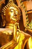 Złoty Buddha status Obraz Stock