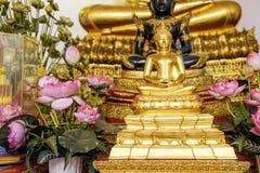 Złoty Buddha, Wat Pho, Bangkok, Tajlandia Fotografia Royalty Free