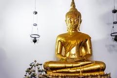 Złoty Buddha, Wat Pho, Bangkok, Tajlandia Obrazy Stock