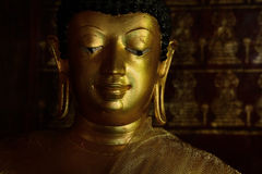 Złoty Buddyjski stan w Chiangmai Tajlandia Fotografia Royalty Free