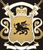 złoty crest Zdjęcie Royalty Free