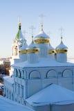 złoty cupola obraz royalty free