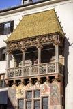 złoty dach Zdjęcie Stock