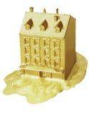 złoty dom Fotografia Stock