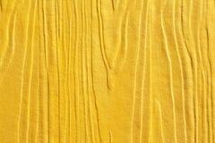 Złoty drewniany tekst Obraz Royalty Free