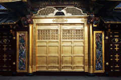 złoty drzwi Obrazy Stock