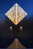 złoty drzwi Zdjęcie Stock