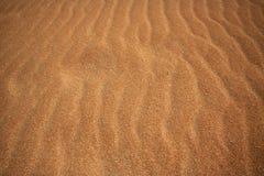 złoty Fuerteventura piasek zdjęcie stock