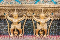 Złoty Garuda Wat Phra Kaew fotografia royalty free