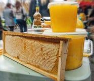 Złoty honey5 Zdjęcia Royalty Free