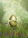 Złoty jajko Obrazy Royalty Free