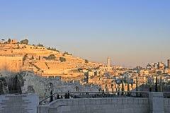 złoty Jerusalem Fotografia Stock
