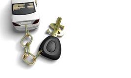 złoty klucz Ilustracja Wektor