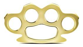 Złoty knykcia Duster Zdjęcie Royalty Free