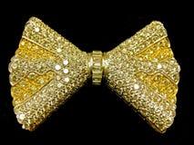 złoty krawat Obrazy Stock