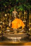 Złoty metal Buddha Obraz Stock