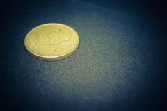 złoty monet Obrazy Stock