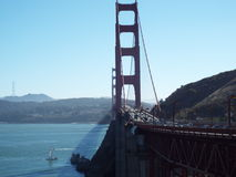 Złoty most Obraz Royalty Free
