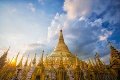Złoty Pagodowy Shwedagon Zdjęcie Royalty Free