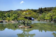 Złoty pawilon - Kinkaku-ji Fotografia Royalty Free