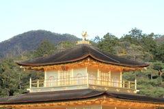 Złoty pawilon Kinkaku ji w Kyoto Fotografia Stock