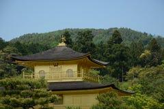 Złoty pawilon Kyoto Obrazy Royalty Free